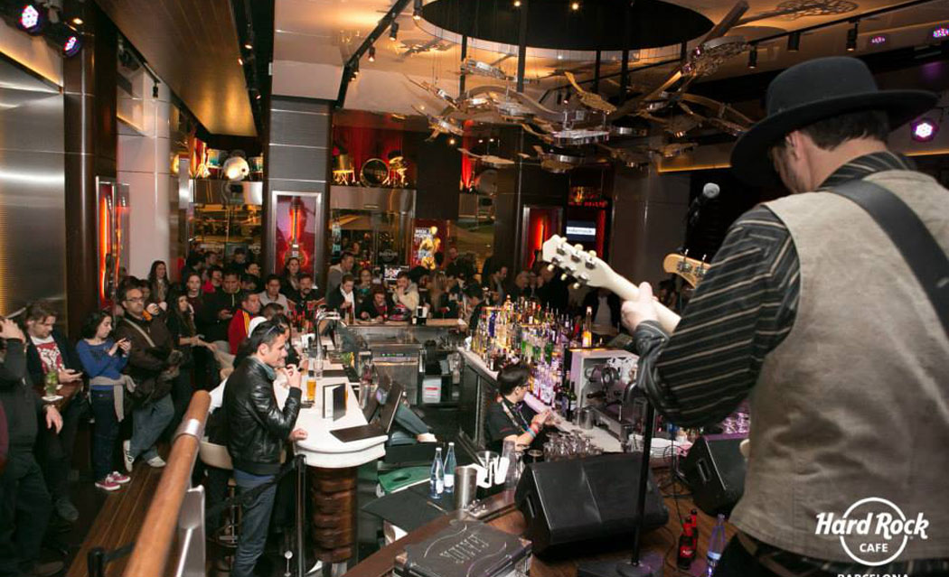 Space Taxi en Hard Rock Cafe